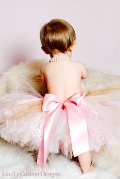 Carousel Old World Victorian Tulle, Ribbon, & Lace Tutu for 1st birthdays, special occasions by SweetheartTutus $45.00
