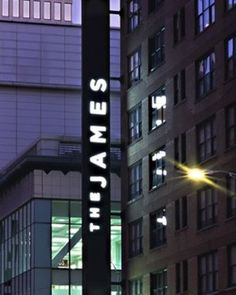 I usually stay st The James Hotel in Chicago. Hot Bar and Restaurant and people! ....#FlySalesGirlsWhoTravelForWork! ;)