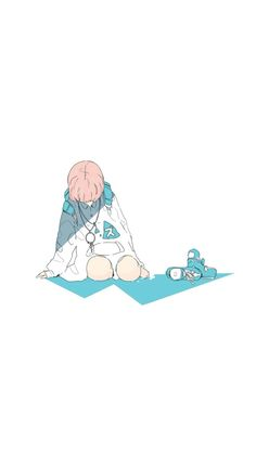 lofi art Anime Art Girl, Manga Art, Aesthetic Art, Aesthetic Anime, Japon Illustration, Sad Art, Identity Art, Cool Animations, Pastel Art