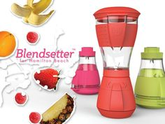 Blendsetter | for Hamilton Beach by Calvin Tabor, via Behance