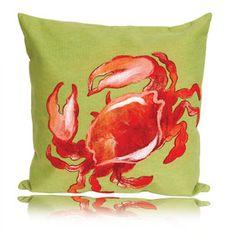 crab pillow (orange)