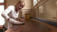 Nicole shows how to restore painted wood trim to its original beauty. Nicole Curtis Rehab Addict, Stained Trim, Refinishing Hardwood Floors, Home Economics, Wood Trim, Diy Home Improvement, Home Repair, Historic Homes, Painting On Wood