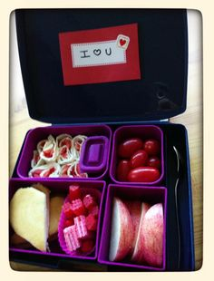bento lunch box for valentine's day