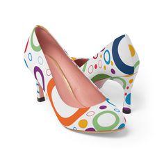 #WhitePumps #WhiteHeels #WhiteHighHeels #HighHeels #HighHeelPumps #FashionShoes #WomanShoes #ShoesForSale #CasualFashion #WomenPumps #CourtShoes #PrintedHeels #PrintedShoes