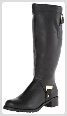 Bella Vita Anya II Damen US 8.5 Schwarz Breit Mode-Knie hoch Stiefel - Stiefel für frauen (*Partner-Link)