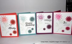 Using Grateful Bunch from Stampin Up