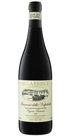 Amarone DI Valpolicella Docg 'Vigneto Tremenel' 2006, Villa Erbice #atelierscavistes #italie #wine