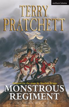 """Read """"Monstrous Regiment"""" by Terry Pratchett available from Rakuten Kobo. A new stage adaptation of one of Pratchett's best-selling novels The Monstrous Regiment in question is made up of a vamp. Manchester United, Real Madrid, Monstrous Regiment, Discworld Books, Good Books, Books To Read, Free Books, Terry Pratchett Discworld, Best Selling Novels"""