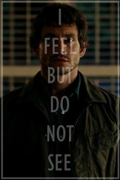 Great quote from the TV series Hannibal
