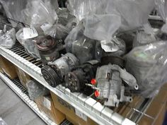 cool 2002 2003 02 03 Audi A4 AC Compressor 102K OEM - For Sale View more at http://shipperscentral.com/wp/product/2002-2003-02-03-audi-a4-ac-compressor-102k-oem-for-sale/