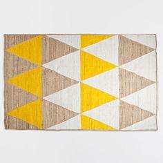 PYRAMID JUTE RUG - Rugs - Decor and pillows   Zara Home United States