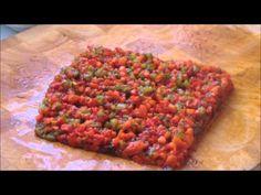 Cuisine Tunisienne - La salade Méchouia