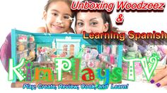 Unboxing and Learning Spanish with Woodzeez General Store and Handy Dand...