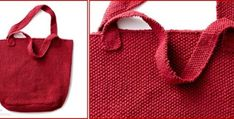 Get grocery shopping done with this sturdy knitted market tote. This sturdy knitted tote will be a great help in your market duty. FREE pattern here … Knitting Patterns Free, Free Knitting, Free Pattern, New Things To Try, Craft Bags, Knitting Projects, Knitting Ideas, Fashion Project, Knitted Bags