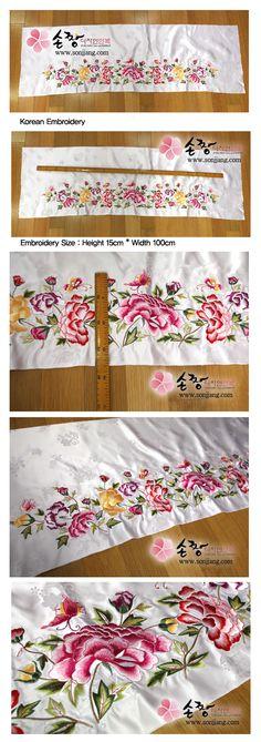 korean embroidery | korean embroidery for making hanbok on sonjjang hanbok!