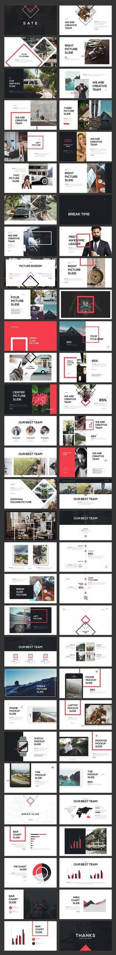 SATE PowerPoint Template by Angkalimabelas on @creativemarket