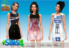 Irinka: Star wars dress set • Sims 4 Downloads