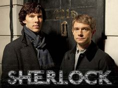 Sherlock is a great modern adaptation of the Sherlock Holmes series.  Wonderfully written and acted, bringing this classic duo into modern technology.  You can see the first season on netflix.com instant streaming or on amazon.com instant streaming.  The second season was recently aired here in the US on PBS and is available on http://www.pbs.org/wgbh/masterpiece/sherlock/