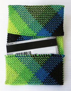Want to do something similar with fabric for each type of card in my wallet