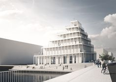 jaja architects wins competition to design copenhagen's first new church in 30 years  www.designboom.com