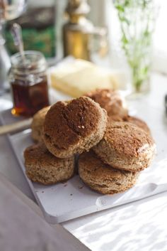 IRISH CUISINE - Honey Scones... | DonalSkehan.com