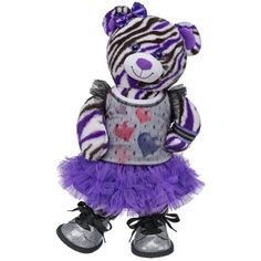 All Heart Wild About Stripes Bear - Build-A-Bear Workshop US $50.50