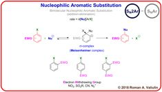 [92] Nucleophilic Aromatic Substitution – ChemInfoGraphic