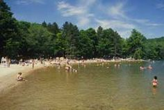 A list of Freshwater Inland Beaches in the Boston, South, North, Central, & West Regions