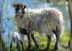 Swaledale sheep and Ewe, by James Bartholomew