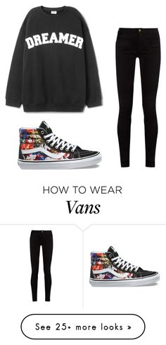 """#dreamer"" by alyssaburleson on Polyvore featuring Vans and Gucci"