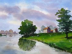 By the water's edge - WetCanvas
