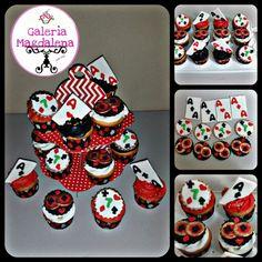 Casino cupcake