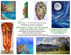 Women Artists of Kaua'i: Kauai Fine Art Festival October 18, 2014