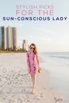 On the fashion blog I share my new favorite style for the sun-conscious lady | Kylen Every Wear