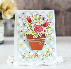 Blooming Thank You by Laurie Schmidlin - PTI Bloom & Grow Mini Kit