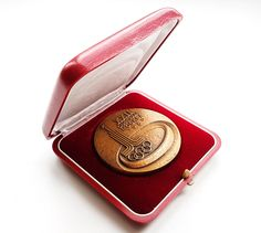 Participation Medal Moscow 1980 XXII Olympic Games in ORIGINAL BOX!! Teilnahmenmedaille Olympiade 80 in Moskau by Olympiad80 on Etsy