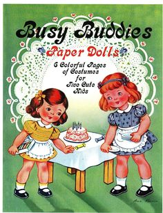Busy Buddies Paper Dolls