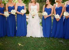 Horizon blue from David's bridal!