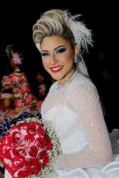 Emmanuelle Freitas, noiva 2014.