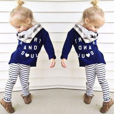 27f31b415a Long Sleeve Shirt and Tights Set - Baby-Blends By MG