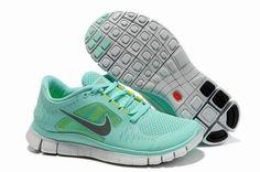Nike Free Run 3 Women's Running Shoes Mint Green/Reflective Silver-Volt