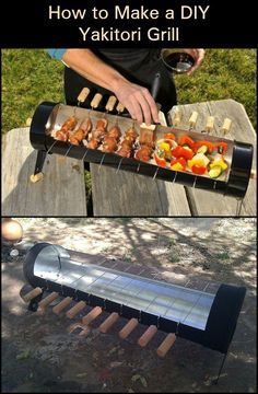 How To Make A Yakitori Grill