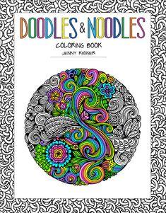 Doodles Noodles Coloring Book