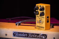 Big Tweedy Drive pedal is voiced after a super rare High Powered Tweed Twin amp. The pedal gives you the highly sought-after vintage tone that has big fat punchy midrange and sweet gnarly bite like the late 50 ́s American amplifiers. Boost Pedal, Mad Professor, Rock N Roll, Tweed, The Voice, Fat, American, Vintage, Rock Roll