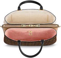 Doesn't it make you happy to see all the new bags from Louis Vuitton? It's a great start for that I can tell ya! Meet the Louis Vuitton Millefeuille Bag for the Spring Summer 2018 Collection. Fall Handbags, Louis Vuitton Handbags, Taschen Von Louis Vuitton, Tote Bags, New Bag, Fashion Bags, Bag Accessories, Leather Bag, Purses And Bags