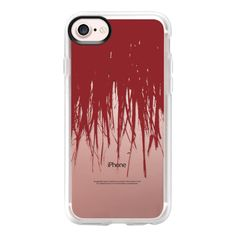 Fringe Red Transparent - iPhone 7 Case And Cover ($39) ❤ liked on Polyvore featuring accessories, tech accessories, phone cases, phones, iphone case, apple iphone case, clear iphone case, red iphone case, iphone cover case and iphone cases