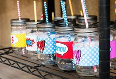 Superhero Party with Lots of Fun Ideas via Kara's Party Ideas | KarasPartyIdeas.com #SuperheroParty #Party #Ideas #Supplies (8)