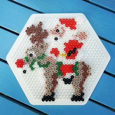 Source by You could feel that the annals of handcrafted beaded jewelry cannot possib Perler Bead Designs, Easy Perler Bead Patterns, Fuse Bead Patterns, Hama Beads Design, Diy Perler Beads, Perler Bead Art, Pearler Beads, Fuse Beads, Beading Patterns