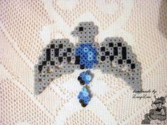 Handmade by Lissy Lou: Ravenclaw Diadem +pattern Hama Beads Design, Diy Perler Beads, Perler Bead Art, Harry Potter Friends, Cute Harry Potter, Pearler Bead Patterns, Perler Patterns, Ravenclaw, Harry Potter Perler Beads