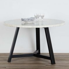 Beautifully crafted table made from ethically harvested bone Be Natural, Home Reno, New Furniture, Dining Table, Resin, House, Colour, Patterns, Unique